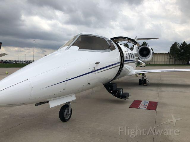 Learjet 60 (N241TX) - KCA Charters Learjet 60XR