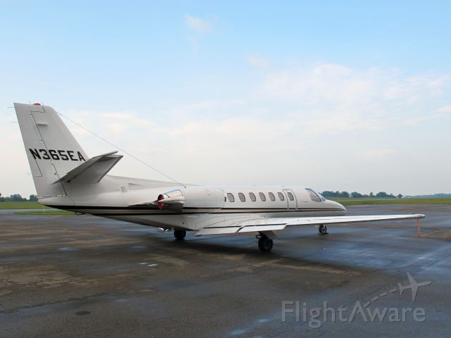 Cessna Citation V (N365EA) - The aircraft is managed by CFM Corporate Flight Management