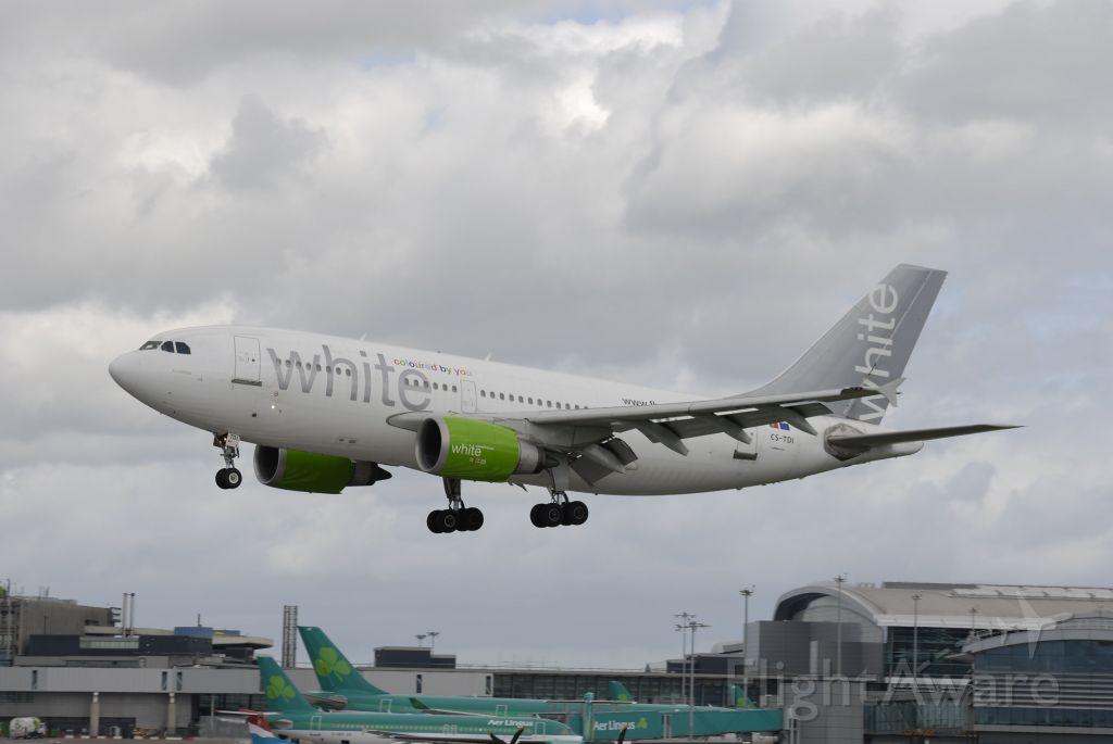 Airbus A310 (CS-TDI) - July 10, 2011 - wfu and scrapped in Toledo KS in 2015.