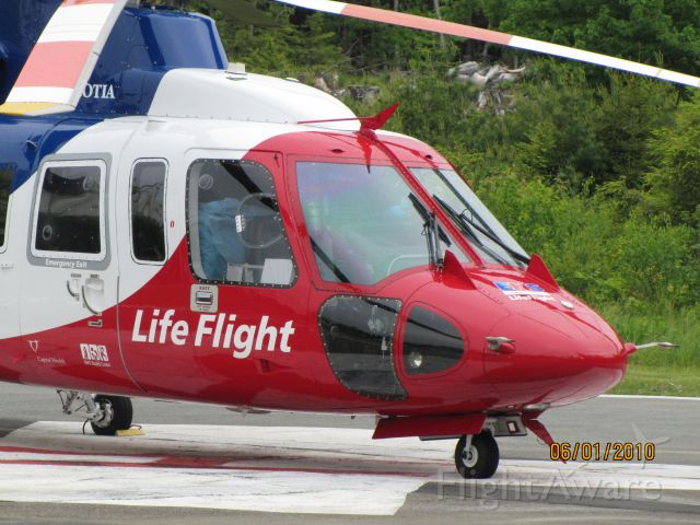 C-GIMN — - Parked on Helipad at Hospital in Bridgewater NS...June 1/2010