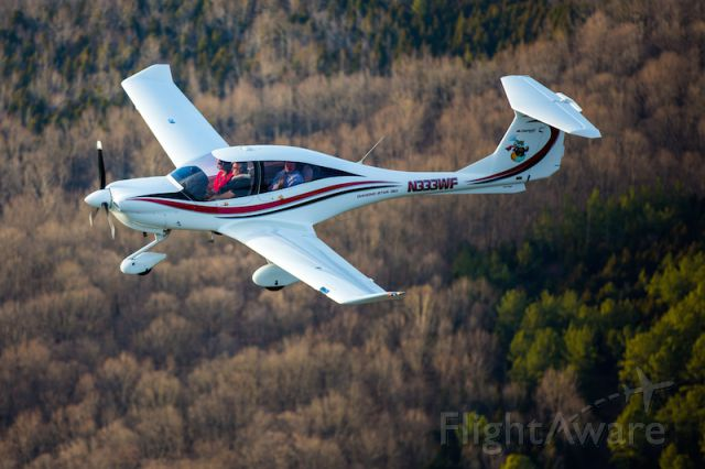 Diamond Star (N333WF) - This photo was used in the June 2014 edition of The Aviation Consumer for the used DA40 article