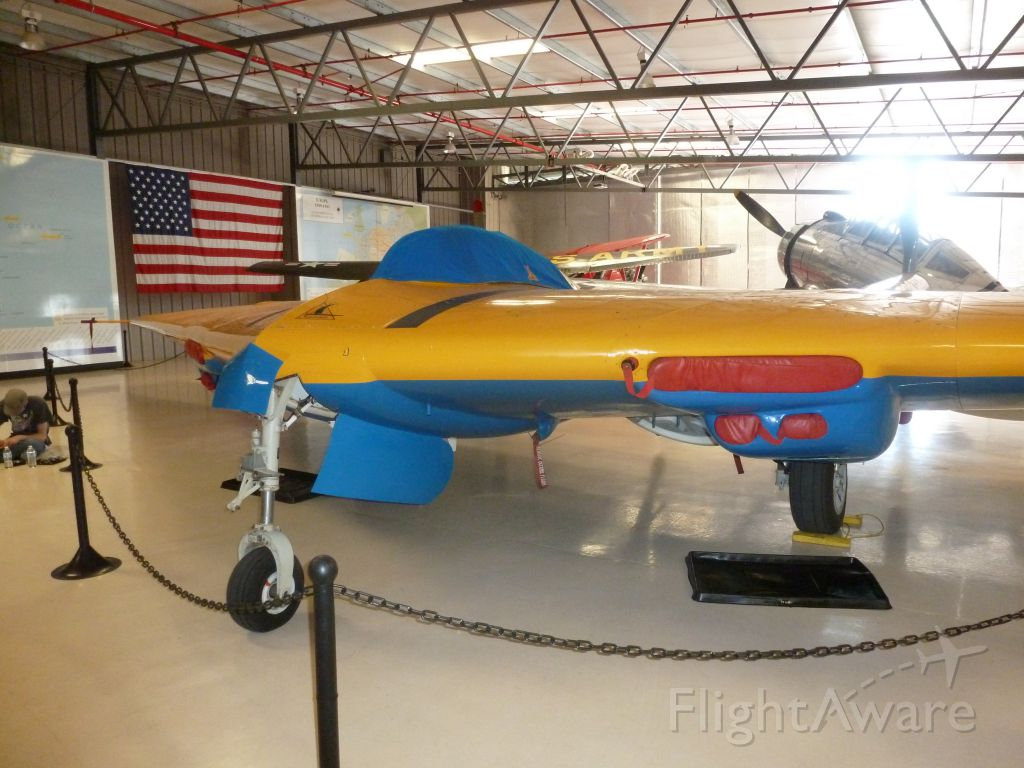 — — - Only flying wing prototype still airworthy.<br />Planes of Fame, Chino, Ca<br /><br />Apr 23, 2019 - Northrop N9MB Flying Wing Destroyed in an engine-out Crash