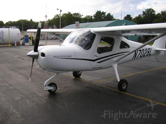 Cessna Skycatcher (N7028L) - pre-flight for C/C to CON