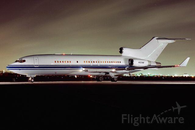 Boeing 727-100 (N727WF) - night exterior