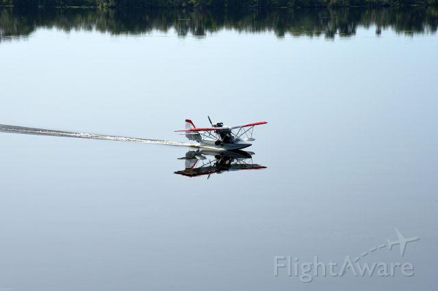 "N419GC — - Landing on a smooth ""mirror"" in Florida."