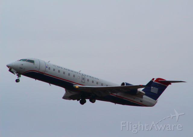 Canadair Regional Jet CRJ-200 — - Just departed KFAY