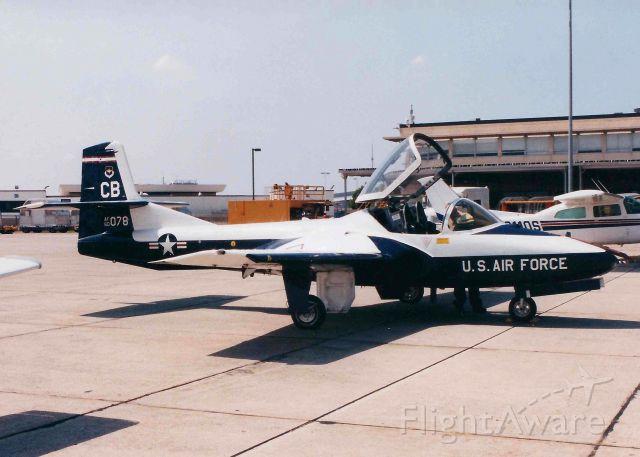 Cessna 318C (60-0078) - At Shreveport Regional.  1960 Cessna T-37B Tweety Bird