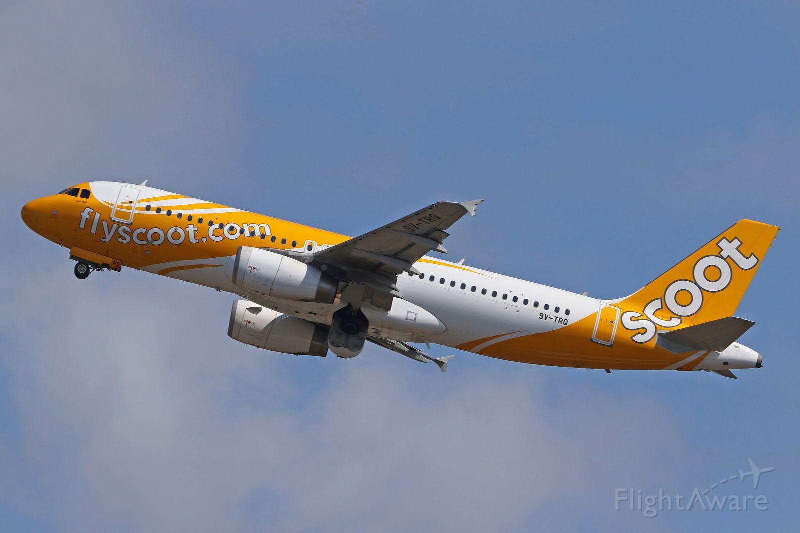 Airbus A320 (9V-TRQ)