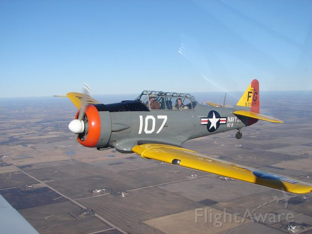 North American T-6 Texan (N107FG)