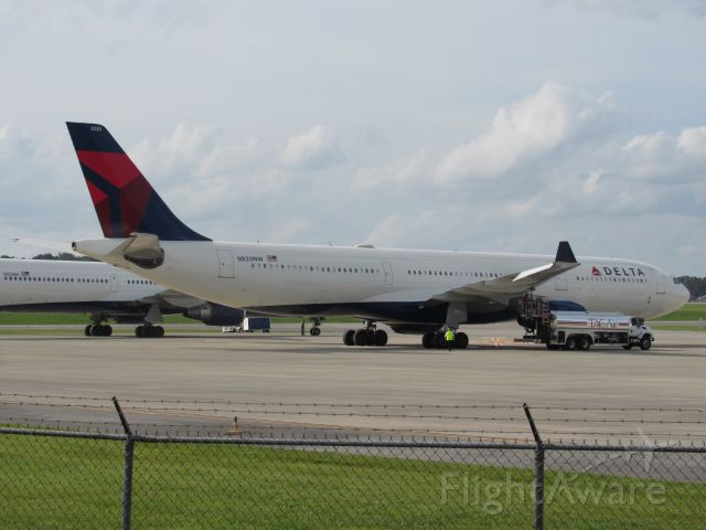 Airbus A330-300 (N820NW) - Diversion