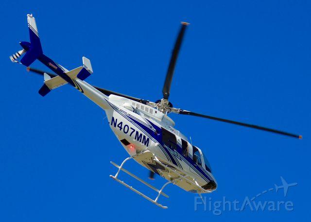 Bell 407 (N407MM) - At Shreveport Regional.