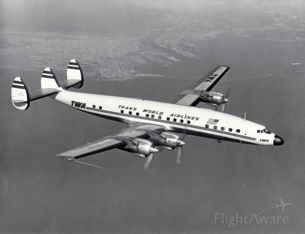 — — - TWA L-1649_Constellation