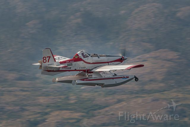 C-GXNY — - Heading for the wildfire line.