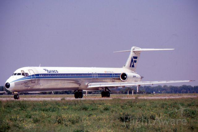 McDonnell Douglas DC-9-30 (EC-FLK)