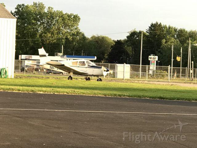 Piper Cherokee Arrow (N6753J) - Just Landed At KJXN Headed To Their Hangar