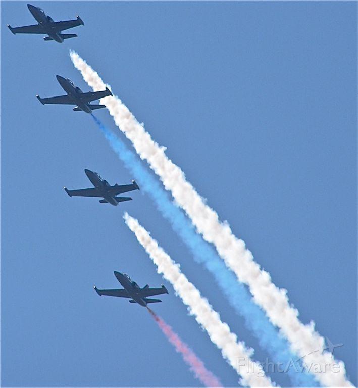 Aero L-39 Albatros (AEROL39) - The patriots at the California Capital Airshow 2010