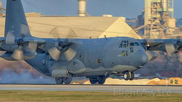 Lockheed C-130 Hercules (69-5828) - 22 arrival.