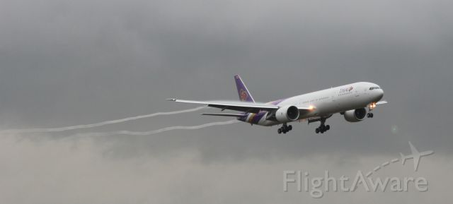 Boeing 777-200 (HS-TKN) - First Flight Test for 777