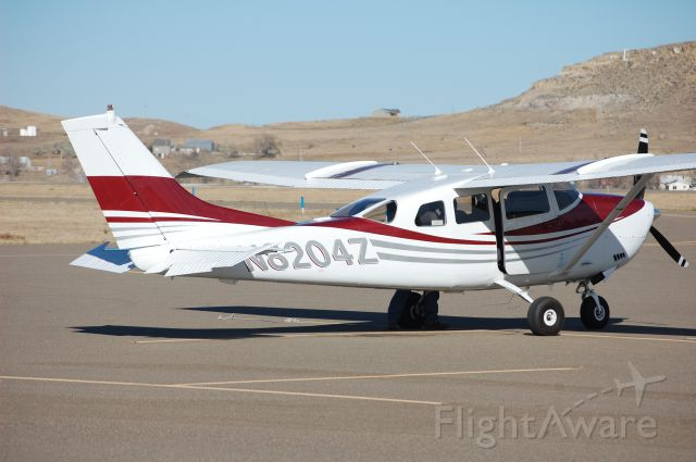Cessna 205 (N8204Z) - Getting ready for start up