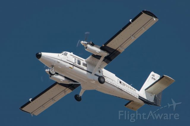 De Havilland Canada Twin Otter (N359AR) - Linclon labs Twin Otter operating MTH9AR on a test flight in conjunction with a L-3 Communications Learjet 36.