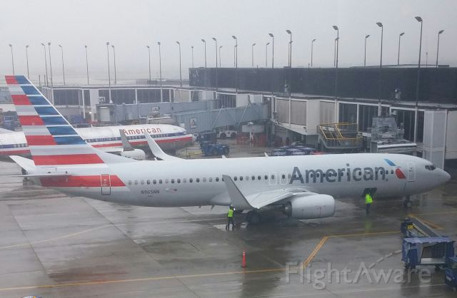 Boeing 737-800 (N965NN) - 2015 Boeing 737-800.  Picture taken from the Admiral