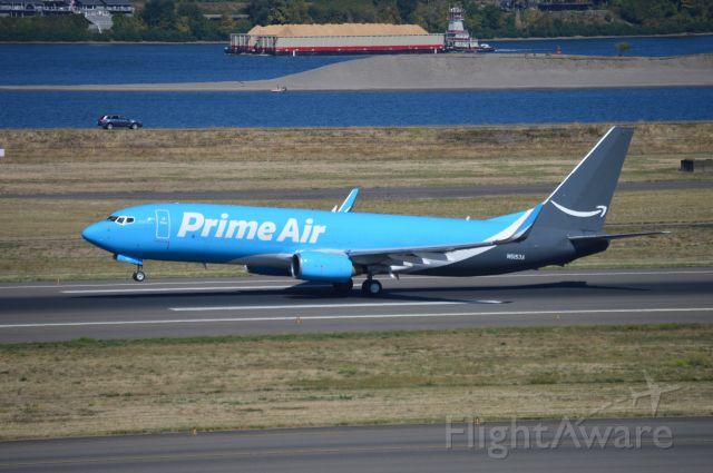 Boeing 737-800 (N5153A) - SOO3601 departing on 28R for Chicago/Rockford (KRFD/RFD).