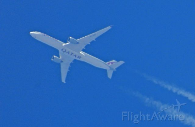 Airbus A350-1000 (N739) - Passing by Carson City, NV on the way to LAX