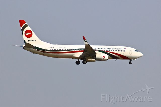 Boeing 737-800 (S2-AFM)