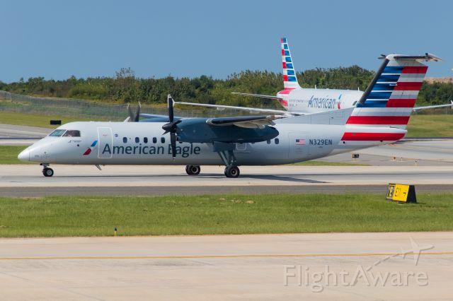 de Havilland Dash 8-300 (N329EN) - 29.09.2017