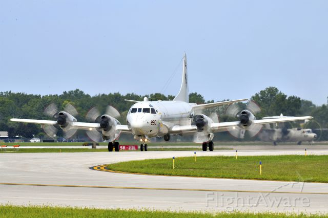 Lockheed P-3 Orion (N290) - U.S. Navy Lockheed P-3 Orion arriving at Thunder Over Michigan 2018.