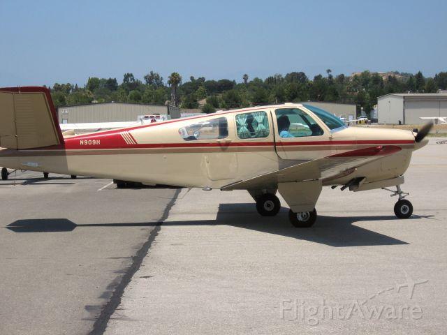 Beechcraft 35 Bonanza (N909H) - TAXIING AT FULLERTON