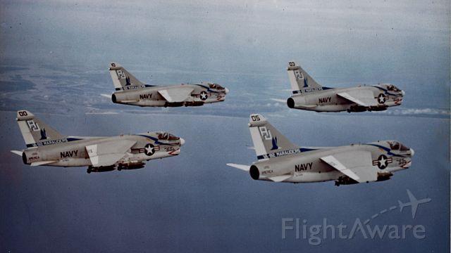 — — - Attack Squadron 82 - 1971 near NAS Cecil Field, FL