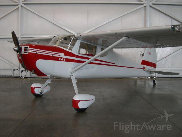 Cessna 140 (N5340C) - 1950 C-140A Olympic NW Hangar KBJC May 16, 2014
