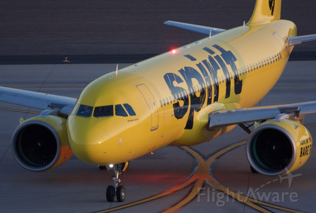 """Airbus A320neo (N902NK) - A320 NEO taxiing out for departure (Please view in """"Full"""" for best image quality)"""