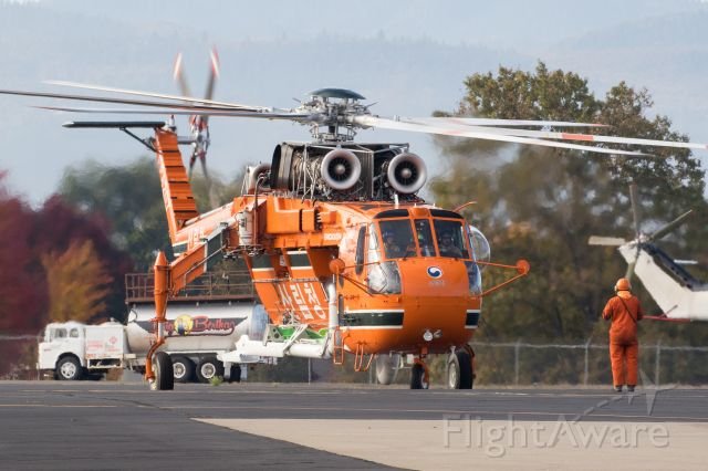 Sikorsky CH-54 Tarhe (N915AC) - Erickson's next S-64 for the Korean Forest Service currently going through testing.