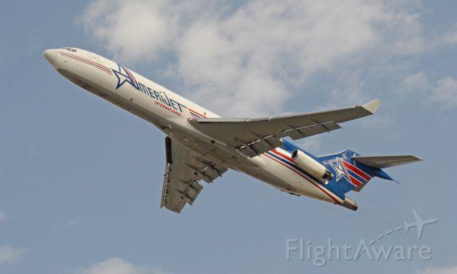 Boeing 727-100 (N395AJ) - Imaged on 1/13/12