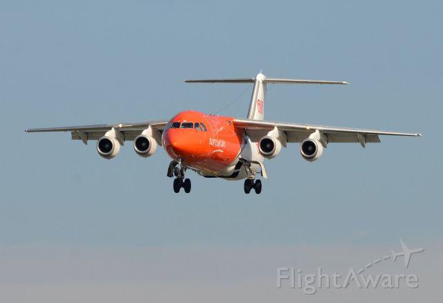 British Aerospace BAe-146-300 (OO-TAF)