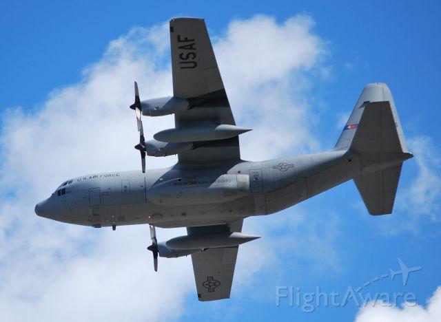 Lockheed C-130 Hercules (ANG34563) - 4 of 4 C130s departing 36C - 11/6/10
