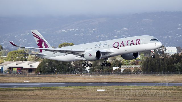 Airbus A350-900 (A7-ALH) - QATAR A350 first arrival in Adelaide