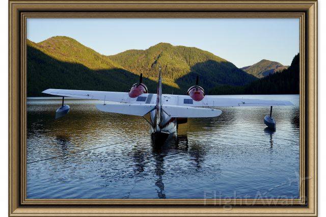 Grumman Goose (C-GYVG) - Found a wonderful lake with no one around