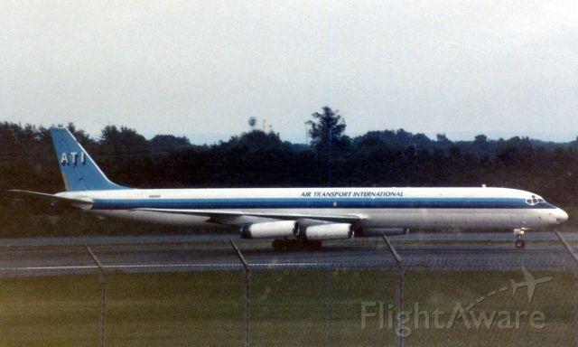 McDonnell Douglas DC-8-60 (N906R) - Bradley Airport 8/16/98