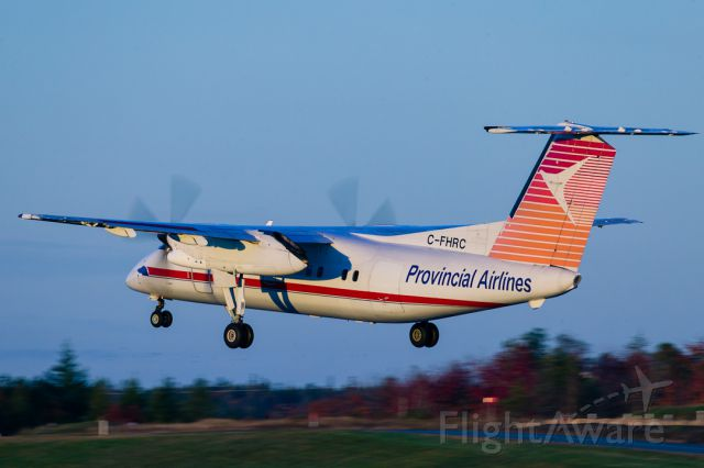 de Havilland Dash 8-100 (C-FHRC)