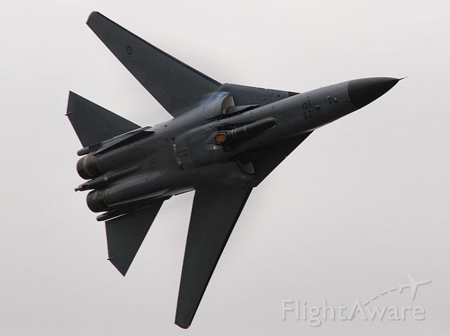 Grumman EF-111 Raven — - One of the last displays by an F111 before their retirement from RAAF service