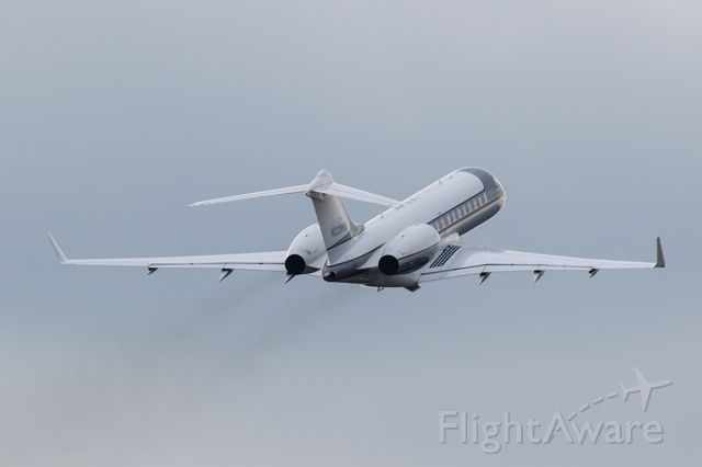 Bombardier Global Express (N228SS) - Bombardier global express departing Atlanta's PDK airport