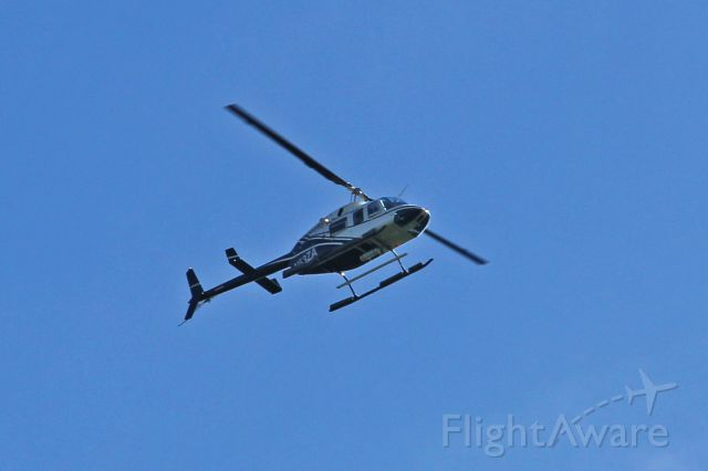 Bell JetRanger (N53ZA) - Photograph taken at about 1334hrsEDT on 17-Aug-2016 over Wayne, NJ