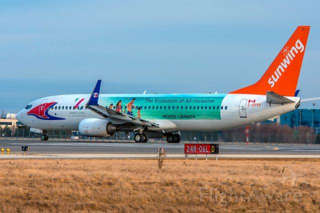 Boeing 737-800 (C-GVVH) - Sunwing 738 C-GVVH