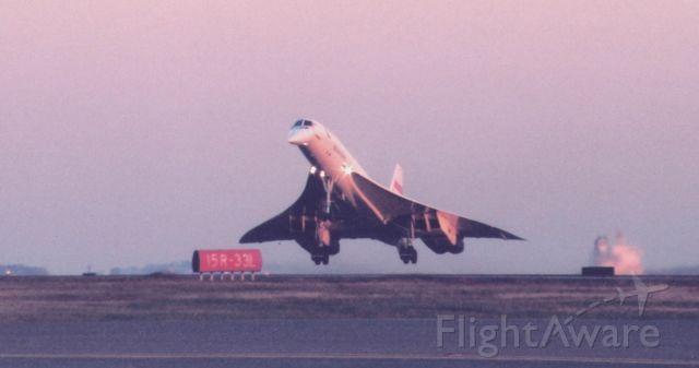 Aerospatiale Concorde (G-BOAD)