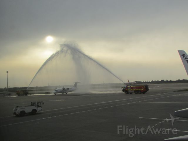 — — - Water Cannon Salute
