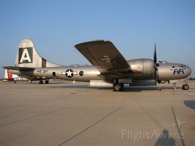 Boeing B-29 Superfortress (NX529B) - Seen at Appleton, WI... the staging ground for the B-29 rides.