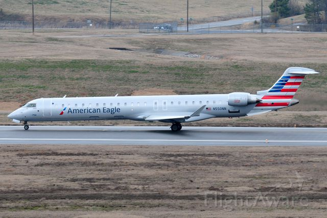 Canadair Regional Jet CRJ-900 (N550NN) - Captain Storck on the role. Headed back to CLT
